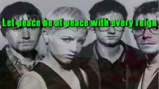 THE CRANBERRIES - ZOMBIE karaoke instrumental lyrics