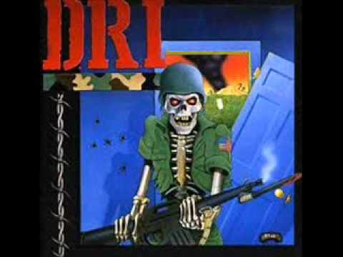 D.R.I - My Fate To Hate - (Dirty Rotten LP)