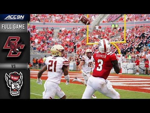 Boston College vs North Carolina State Full Game | 2018 College Football