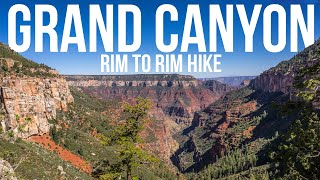 Grand Canyon Rim to Rim one day hike