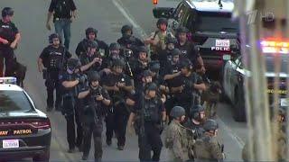 На семейном фестивале в Калифорнии неизвестный открыл стрельбу.