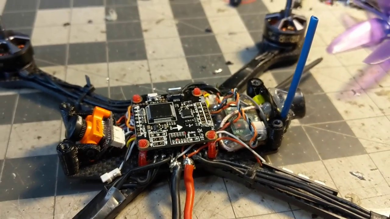 How To Install Hobbywing S Xrotor 4in1 And Flight