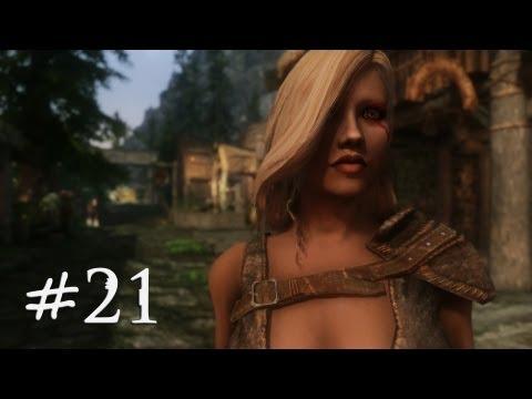 The Elder Scrolls V: Skyrim Gameplay (Modded) - Succubus Breton - Part 21