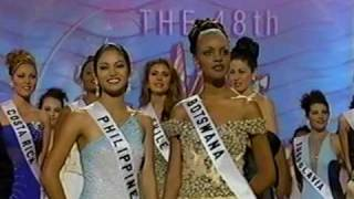 MISS UNIVERSE 1999 Crowning