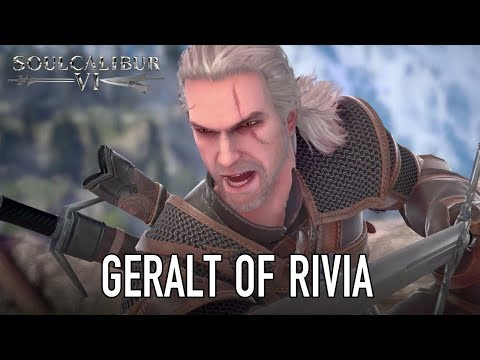 SOULCALIBUR VI - PS4/XB1/PC - Geralt of Rivia (Guest character announcement trailer)