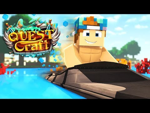 THE FASTEST MOTOR BOAT EVER! | QuestCraft #22