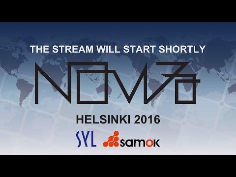 NOM Meeting in Helsinki 4.-5.11.2016 (Part 1/4)