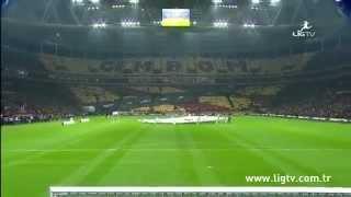 Galatasaray 3D Koreografi - Cimbom Başı Dik Yürür Turkey[HQ]