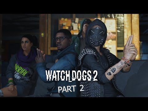 Watch Dogs 2 Walkthrough Gameplay Part 2 CyberDriver
