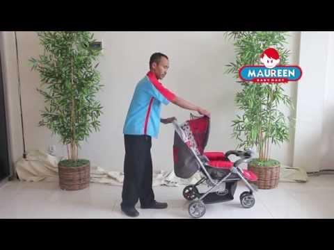 cara-menggunakan-stroller-pliko-boston-bs-338