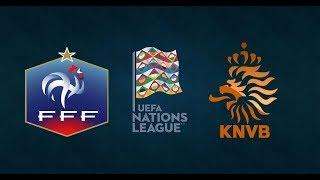 France vs Netherlands | UEFA Nations League 2018/19 | League A Group 1 | Simulation