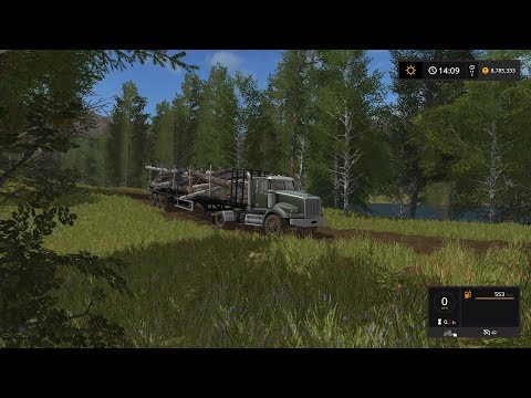 Farming Simulator 2017 (PS4) | FORESTRY | TIMBER FELLING | THANKS FOR 9000 SUBS