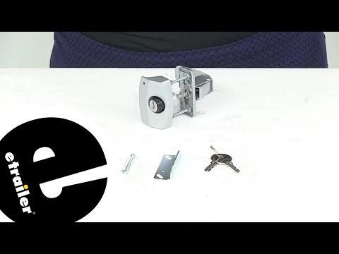 Etrailer | Review Of JR Products RV Locks - Entry Door Lock - 37210805