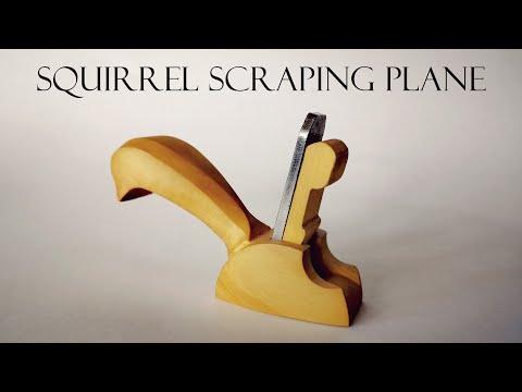 "016 ""Squirrel"" scraping hand plane"