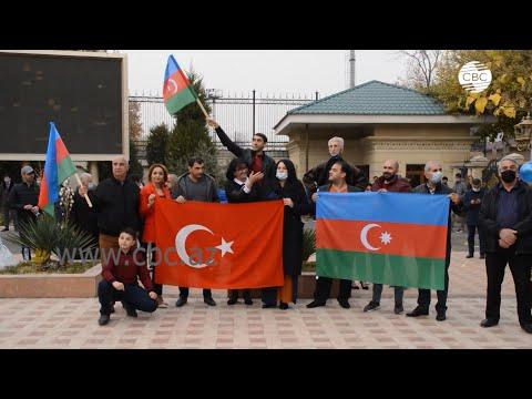 В Ташкенте отметили победу Азербайджана