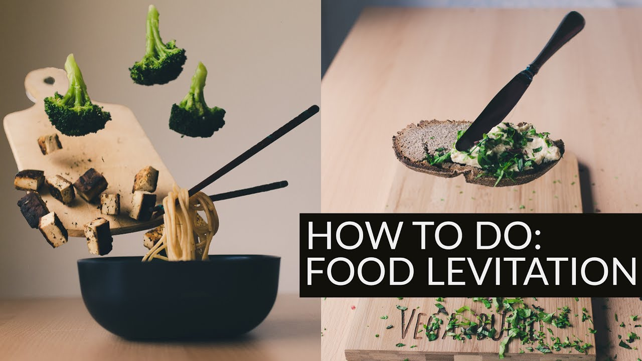 How to do food levitation Tutorial