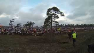 Start craches at Gotland Grand National 2014