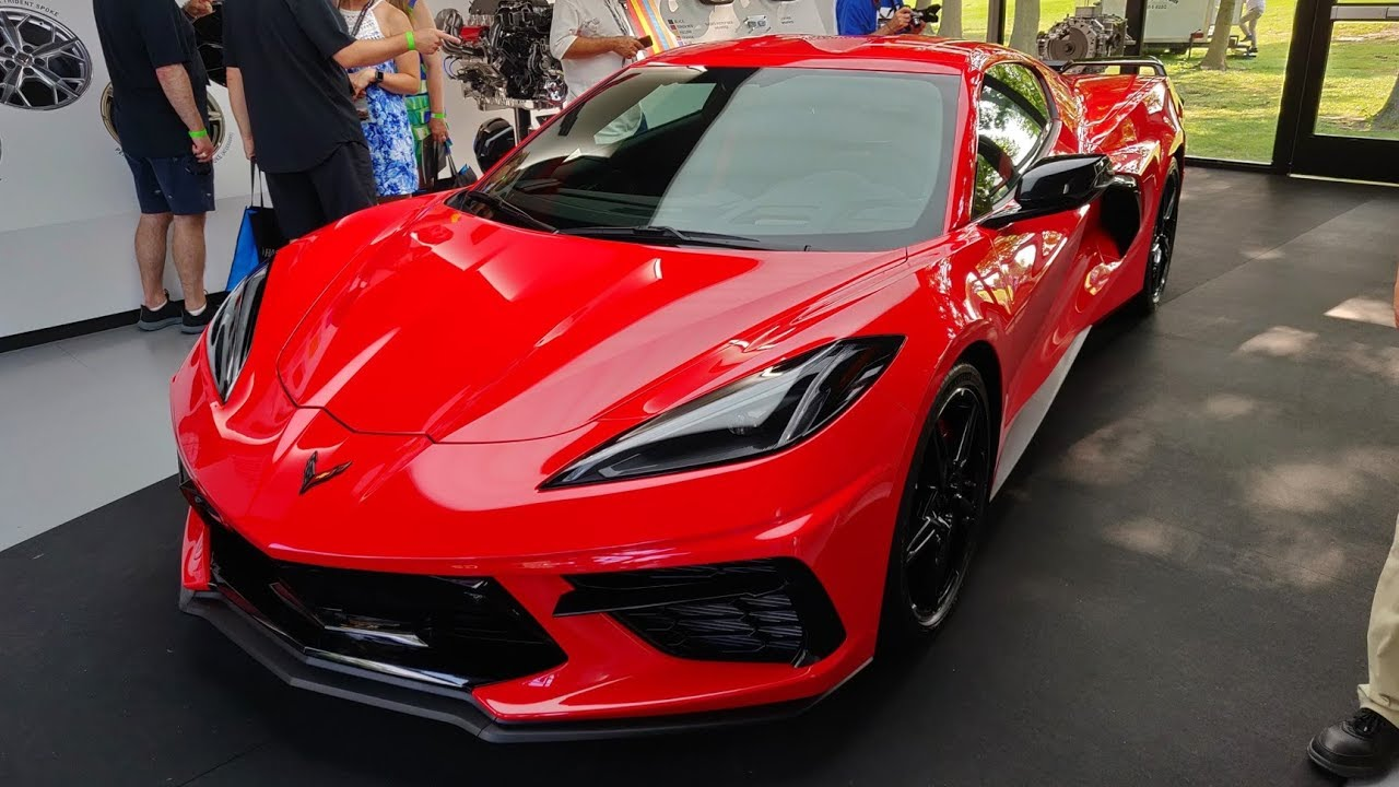2020 C8 Corvette Walkaround and Details!!! - YouTube