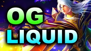 LIQUID vs OG - Miracle- Invoker! - #TI8 The International 8 DOTA 2