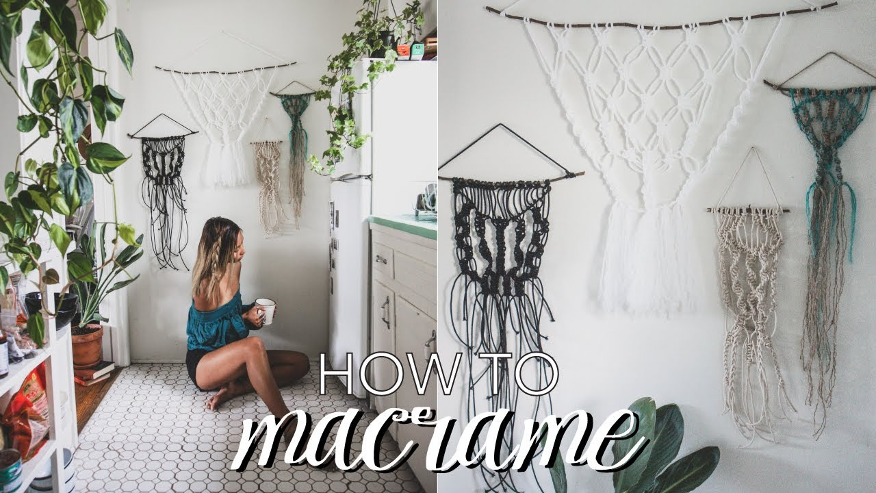 20 Easy And Quick Macrame Projects To Decorate Your Home Macrame