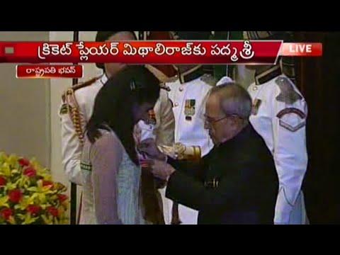 PV Sindhu Receives Padma Shri Award