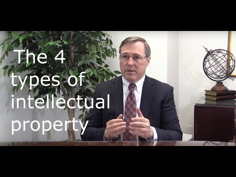 The 4 types of Intellectual Property