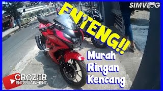 Motor Fairing 150cc ter-RINGAN!! Test Ride GSX-R 150    Membahas Detail