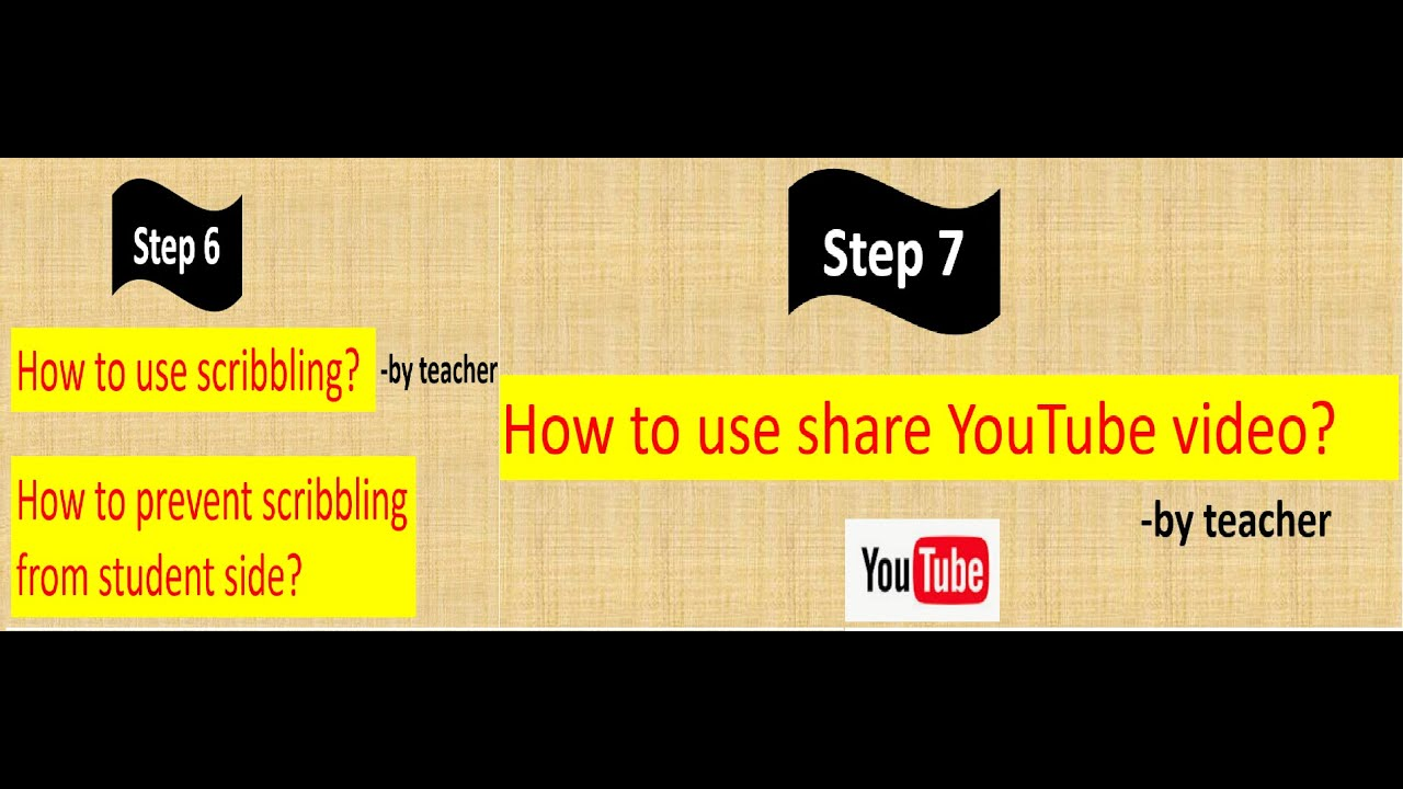 how to use zoom app (prevent scribbling,how to share youtube video)part3