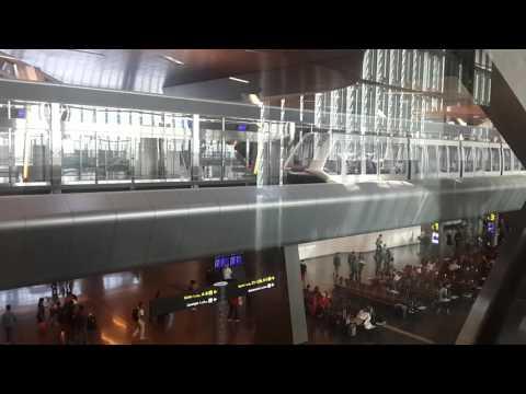 Siu Qatar metro in airport