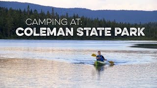 Camping at Coleman State Park & Coleman Lodges