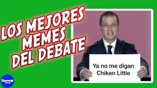 Los mejores Memes del debate presidencial 2018