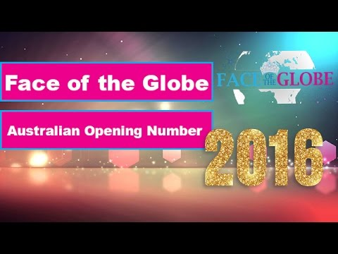 Face of the Globe Australia 2016 | Opening Number | Emily Martin