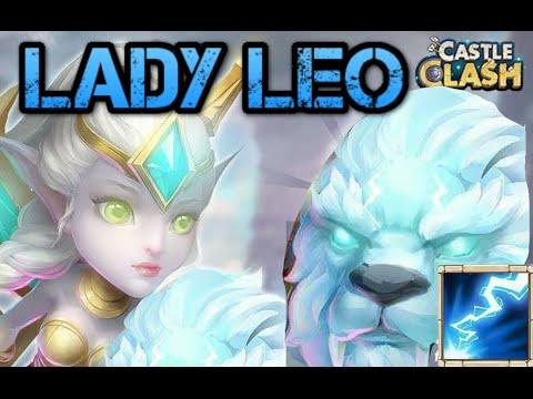Castle Clash: New Hero! Lady Leo!