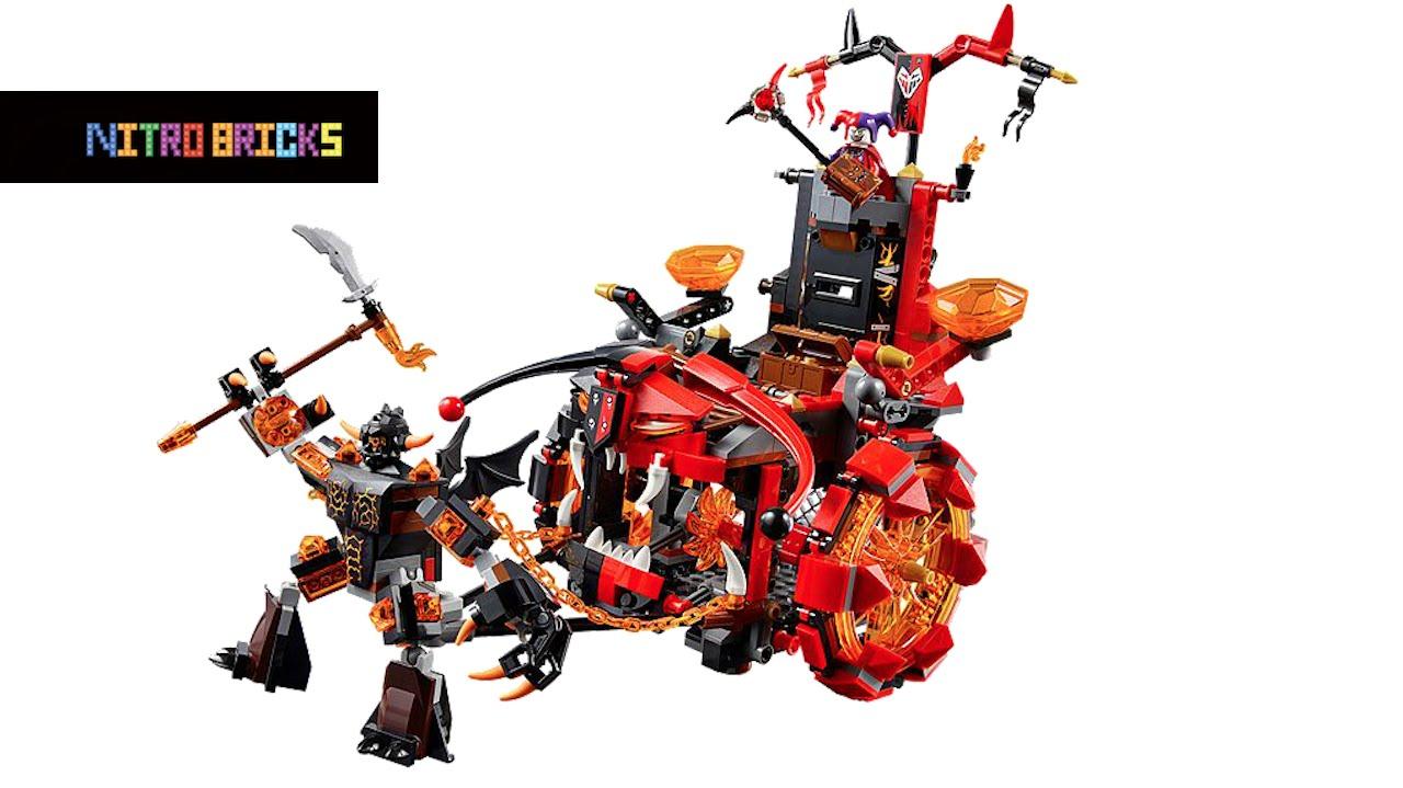 LEGO NEXO KNIGHTS JESTRO/'S EVIL MOBILE LEGO 70316