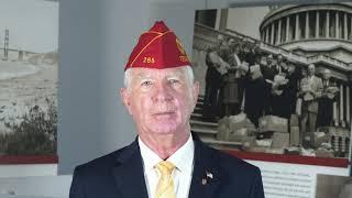 American Legion Commander honors those who serve