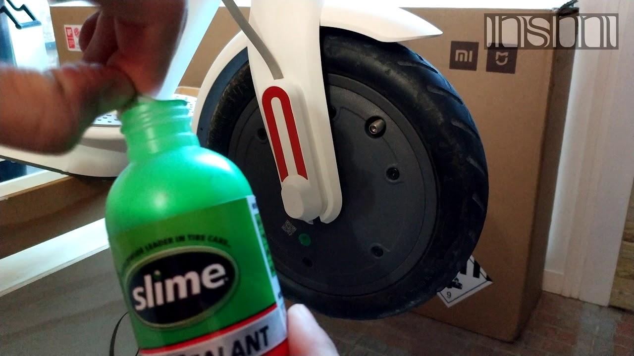 Neumático rueda antipinchazo-antivibraciones patinete ...