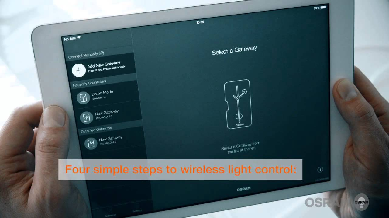 lightify pro installation how to set up the smart wireless lighting control system from osram youtube [ 1280 x 720 Pixel ]