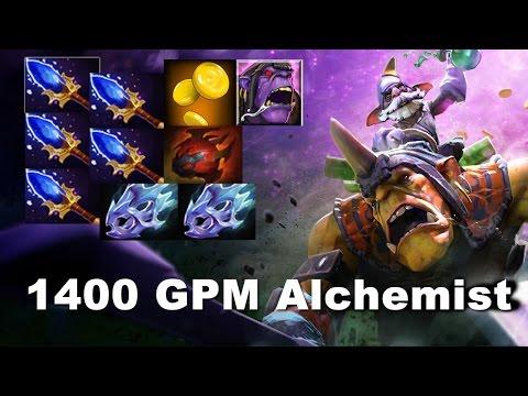 Wagamama 1400 GPM Alchemist Insane 6.84 Dota 2