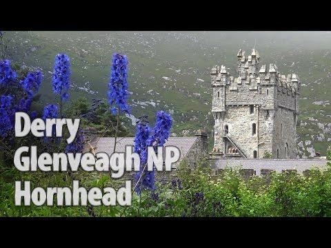 Ireland episode3: Glenveagh National Park Garden & Castle, Horn Head - hiking, Londonderry