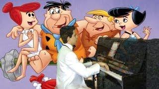 Taş Devri FİLM SİNEMA MÜZİK PİYANO Format Sitkom Komik Komedi bowling Fred Devir tarih Oyun Çizgi