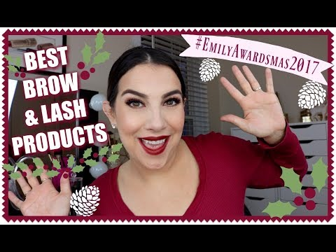 EMILY AWARDS: Best Brow & Lash Products 2017