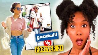 Thrifting vs. Fast Fashion CHALLENGE!