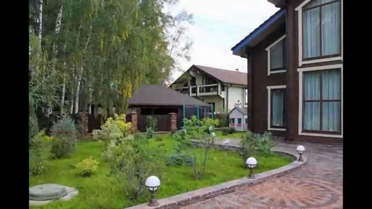 поселок Лешково, Истринский район, Московская область - YouTube