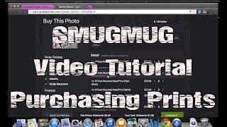 Smugmug - How To Purchase Prints