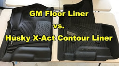 GM Floor Liner vs. Husky X-Act Contour Liner