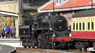 North Yorkshire Moors Railway, Pickering - Grosmont - Whitby.