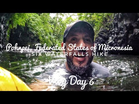 Six Waterfalls Hike in Pohnpei, Micronesia | Vlog Day 6