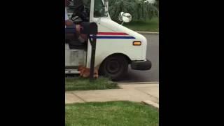 Oscar loves the mailman