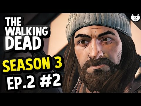 The Walking Dead Game Season 3 - COMICS CHARACTER! - The Walking Dead New Frontier Gameplay  Ep2 #2)