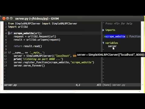 Ultimate VIM for editing Python and Django
